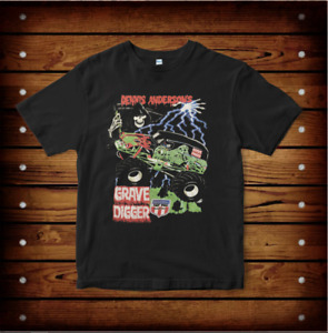 Grave Digger Monster Truck T-Shirt Funny Father Mother Day Gift For Men Women