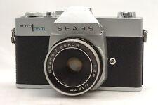 @ Ship in 24 Hours! @ Rare! @ Sears Auto 35 TL 35mm SLR Camera Sekor 48mm f2.8