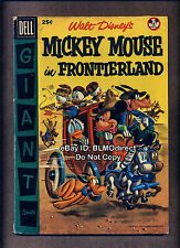 Mcs 1956 Mickey Mouse In Frontierland #1 Vg/Fn First Print Dell Giant Gerber 4
