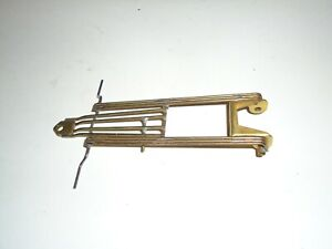 1/24 INLINE VINTAGE SLOT CAR BRASS CHASSIS