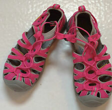 SHOES - size 4 NEW Big Kid KEEN Whisper water shoes sport sandals, pink