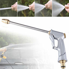 High Pressure Water Power Long Spray Gun Nozzle Garden Hose Lawn Car Wash US