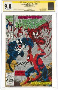 The Amazing Spider-Man #362 (May 1992 Marvel Comics) CGC 9.8 NM/MT | Signature