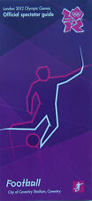 Londres Jeux Olympiques de 2012 SOUVENIRS-football guide spectateur Coventry