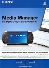 PSP Sony Media Manager IT IMPORT SONY COMPUTER ENTERTAINMENT