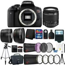 Canon EOS Rebel T6 DSLR Camera w/ 18-55mm Lens , Camera Case & Accessory Kit