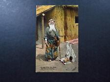 Postcard Japan Japon Nippon Bear Killer Ainu Hame British Exhibition Bow Arrow