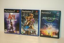 ARC + JADE COCCON 2 + VALKYRIE PROFILE 2 SILMERIA _ SONY PLAYSTATION 2 PS2