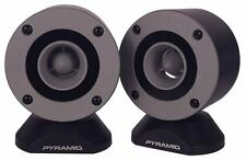 "PYRAMID TW28 PORTA Dash Mount superficie adatta 300w 3.25"" BULLET TWEETER HORN"