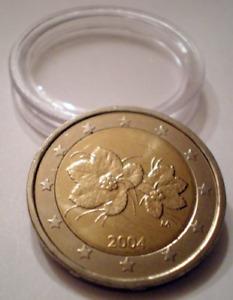 Pièce 2 Euro Finlande 2005 Sous protection Neuve UNC