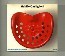 1984 Paolo Ferrari ACHILLE CASTIGLIONI Industrial DESIGN Lighting + FURNITURE Bk