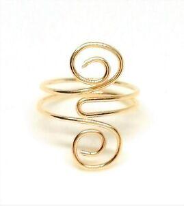 Toe Ring  14 K Gold Filled adjustable