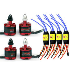 2212 920KV CW/CCW Self-Locking Brushless Motor 30A ESC for Quadcopter Drone FPV