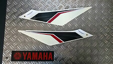 "YAMAHA WR125X/WR125R "" adesivo set POSTERIORE "" Bianco"
