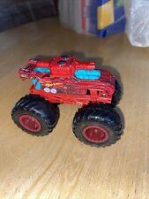 Hot Wheels Invader Tank Red Monster Truck
