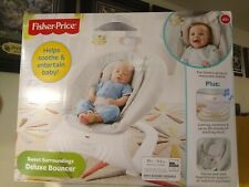Fisher-Price Sweet Surroundings Deluxe Bouncer - Brand New