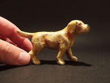 Antique Style Miniature Cast Iron Golden Retriever Dog