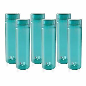 Plastik Kühlschrank Wasserflasche Set 6 Teile, 1 & L