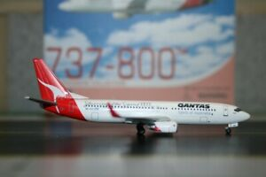 Dragon Wings 1:400 Qantas Boeing 737-800 VH-VXO (55578) Die-Cast Model Plane
