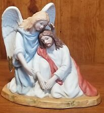 """1998 Homco Greatest Stories Ever Told """"With These Wings"""" Figurine 88431-98"""