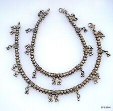 bracelet ankle chain ankle bracelet vintag Antique tribal old silver anklet feet
