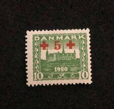 stamp Denmark Danmark Danemark Overprint 15 Ore 1920 **