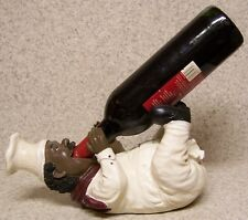 Wine Bottle Holder and/or Decorative Sculpture Baker's Brew NEW