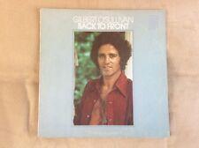 """Gilbert O'Sullivan """"Back To Front"""" Vinyl LP - 1972 MAM Records"""