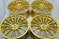 17 gold Wheels Rims Eclipse Civic Accord CL TL ES330 ES300 RSX MKX Camry 5x114.3
