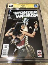 Wonder Woman 41 CGC 2X SS 9.8 Finch Brian Bolland Joker Variant Cover Movie