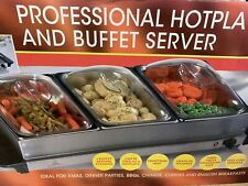 Professional Hot Plate & Buffet Server, Dining In/Out, Barbecues