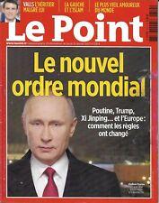 LE POINT n°2314 12/01/2017  Le nouvel ordre mondial_Poutine_Valls_Gauche &islam