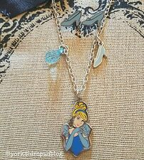 Cinderella Earring & Statment Necklace gift set in Box Disney Princess Cute
