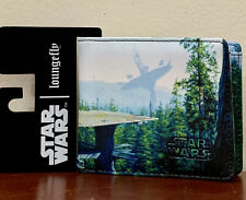 NWT Loungefly Star Wars Planet Endor Forest BiFold Wallet Ships Free