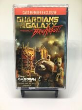 Disney Guardians of the Galaxy Breakout Cast Member Exclusive Cassette Tape Rare