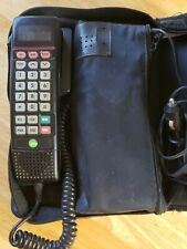 Vintage Motorola Car Phone In Leather Case SCN2500A