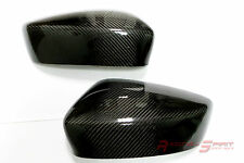 REAL GLOSS CARBON FIBER SIDE MIRROR COVER 13-16 MAZDA3 BM SP25 GT MAZDASPEED JDM