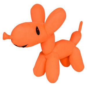 10'' Cute Orange Dog Balloon Plush Toy - Snuggle Soft Stuffed Animal Puppy
