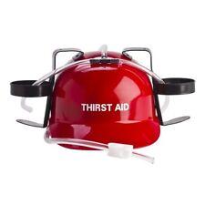 Thirst Aid Drinking Hat – helmet hard hat beer colder straw novelty party