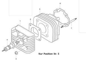 Zylinderkit OriginalHyosung OEM 50ccm SF 50R Rally 05- KM4CA15