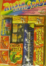 Riesen-Kinderspaß ca.190 Teile Nico Ganzjahresfeuerwerk Feuerwerk Kinderfeier
