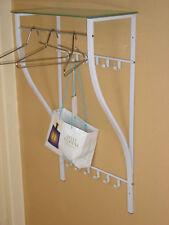 Wandgarderobe weiß Garderobe Flurgarderobe Ablageboden Garderobenleiste modern
