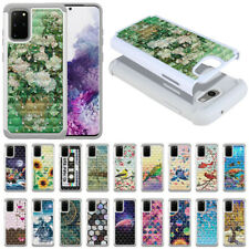"For Samsung Galaxy S20+ Plus 6.7"" Shock Proof Hybrid Bling Hard TPU Case Cover"