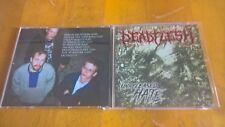 Deadflesh ‎– Unreleased Hate rare death metal rottrevore pyrexia gorement hazael