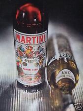 PUBLICITÉ 1958 MARTINI & ROSSI APÉRITIF VERMOUTH SUCRÉ - ADVERTISING