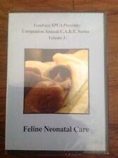 Feline Neonatal Care (Dvd 2004) Loudoun Spca Companion Animal Care Series
