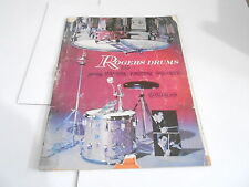 VINTAGE MUSICAL INSTRUMENT CATALOG #10671 - 1964 ROGERS DRUMS