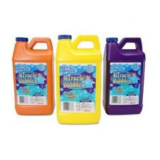 Miracle Bubble Solution Refill 64 Oz Bottle Colors May Vary Kids Outdoor Fun New