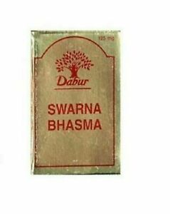 Dabur Swarna Gold Bhasma 125mg India Herbal Remedy freee shipping