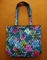 New Vera Bradley Tote Bag Shopper Travel in Falling Flowers #180917-511